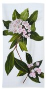 Mountain Laurel Beach Towel