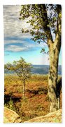 Mountain Overlook At High Point New Jersey Beach Towel