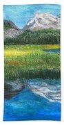 Mountain Reflections Beach Towel