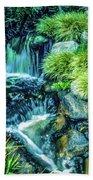 Mountain Stream Beach Towel by Samuel M Purvis III