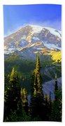 Mountain Sunset Beach Sheet