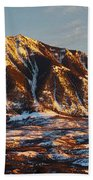 Mountain Sunsets Beach Towel