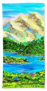 Mountain Valley Beach Towel