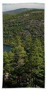 Mountain View, Acadia National Park Beach Towel