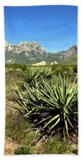 Mountain View Las Cruces Beach Towel
