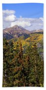 Mountains Aglow Beach Towel