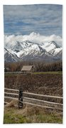 Mountains In Logan Utah Beach Towel