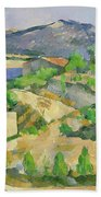 Mountains In Provence Beach Towel