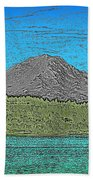 Mountains Majesty Beach Towel