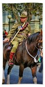Mounted Infantry 2 Beach Towel