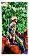 Mounted Infantry Beach Towel