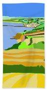 Mounts Bay Cornwall Beach Towel