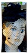 Mourning Millicent Beach Towel