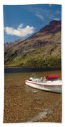 Moutain Lake Beach Towel