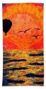 Emocean Beach Towel