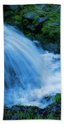 Moving Water Can Move Your Soul Beach Towel
