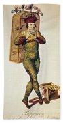 Mozart: Magic Flute, 1791 Beach Sheet