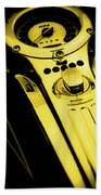 Mph Yellow 5485 G_3 Beach Towel