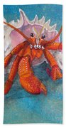 Mr. Crab Beach Towel