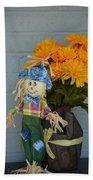 Mr Scarecrow Beach Towel