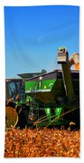 Mrs John Deere Beach Towel