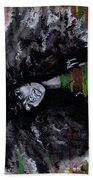 Ms Erykah Badu To You Fool Beach Towel