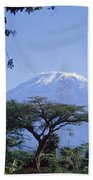 Mt. Kilimanjaro,moshi,tanzania Beach Towel