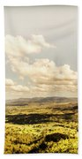 Mt Mee Vintage Landscape Beach Towel