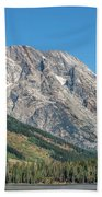 Mt Moran At The Grand Tetons Beach Towel