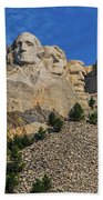 Mount Rushmore-2 Beach Towel