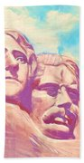 Mt Rushmore Beach Towel