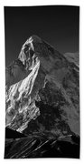 Mt Shivling Above Tapovan Beach Towel