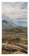 Mt St Helens Beach Towel by Brian Harig