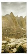 Mt Whitney Sierra Basecamp Beach Towel