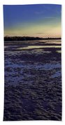 Muddy Beach Beach Towel