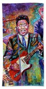 Muddy Waters And His Band Beach Towel
