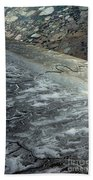 Mudflats Frozen Beach Towel