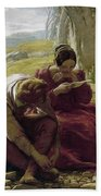 Mulready: Sonnet, 1839 Beach Towel