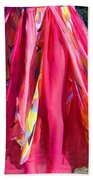 Multi-color Pink Skirt. Ameynra Design Beach Towel
