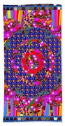 Multi Layered Colorful Flowers Christmas Wreath Style By Navinjoshi At Fineartamerica  Beach Towel