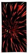 Multicolored Fireworks 2 Beach Towel