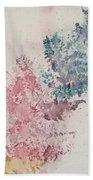Multicolour Fern Beach Towel
