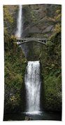 Multnomah Falls 1 Beach Towel