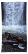 Multnomah Falls 5 Beach Towel