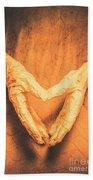 Mummies Love Halloween Beach Towel