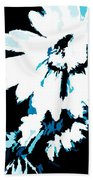 Mums In Abstract Beach Towel