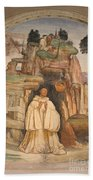 Mural Church Art Beach Towel