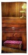 Music - Organist - A Vital Organ Beach Towel by Mike Savad