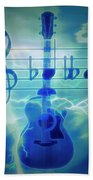 Music Is Everything Lightning Beach Towel