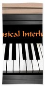 Musical Interlude Beach Towel